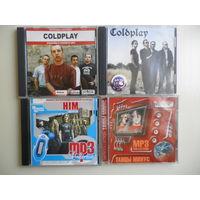 Диски MP3, Coldplay, Him, Танцы минус.
