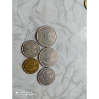 Киргизия (Кыргызстан) - 10-5-3-1 сом, 50 тыйин 2008 год.