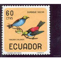 Эквадор. Птица (60c., из серии)