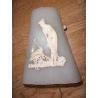 Rare! Лампа , светильник настенный старинный