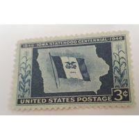 США, Айова, флаг, история, распродажа