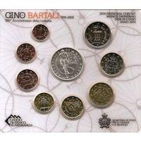 Сан Марино набор евро 2014 (9 монет)