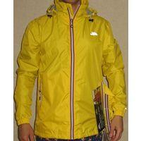 Куртка Ветровка доджевик английской фирмы Trespass unisex Waterproof  Jacket packaway style.Размер M-48. Новая.  Системы –Tres-tex, waterproof 5000 MVP- дышащая, ветроустойчивая, непромокаемая, видима