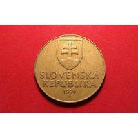 10 крон 1994. Словакия.