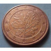 5 евроцентов, Германия 2008 F, AU