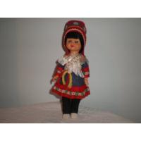 Кукла в национальном костюме. 22 см.