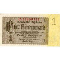 Германия, 1 рентмарка, 1937 г.