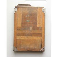 Кассета для фотопластинок деревянная для форматной фотокамеры 13х18 см на запчасти вид 3