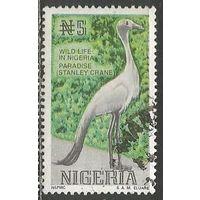 Нигерия. Венценосный журавль. 1993г. Mi#668.