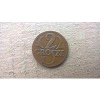 Польша 2 гроша, 1925г. (D-4-1)