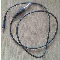 Шнур-переходник аудио mini Jack 3.5mm - Jack 6.3mm