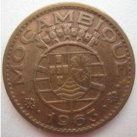 Мозамбик Португальский 1 эскудо 1963 г. (d)