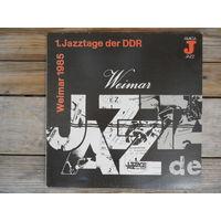 Разные исполнители - 1. Jazztage der DDR. Weimar 1985 - Amiga, ГДР - 1986 г.