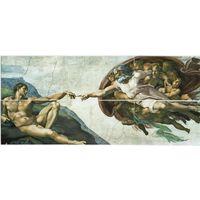 Календарик Болгарии, Микеланджело-Сотворение Адама, пазл,6 шт, 2021