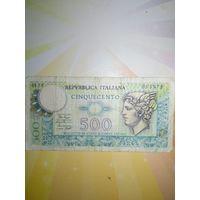 Италия 500лир