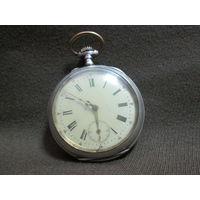 С 1 рубля!Часы карманные серебряные Швейцарские 358 нач.20-го в.