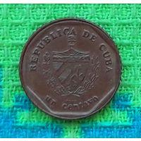 Куба 1 центаво 2013 года. Инвестируй в коллекционирование!