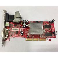 ATI Radeon GC-R9200L-C3 128MB. AGP. Видеокарта 128Мб, 128 мб mb