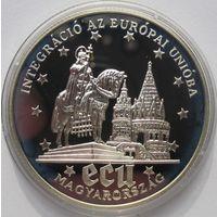 Венгрия, 500 форинтов, 1994, серебро, пруф