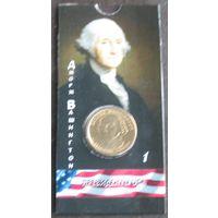 1 доллар 2007 США Первый президент Джордж Вашингтон
