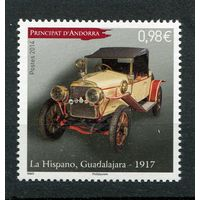 Андорра французская. Автомобиль Гвадалахара 1917 года