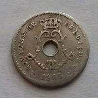 5 сантимов, Бельгия 1905 г.