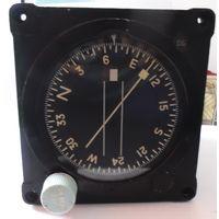 Компас гироскопический MK.7A (England SPERRY) ( гироскоп авиационный гирокомпас авиа самолетный самолет авиация прибор )