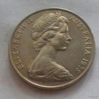20 центов, Австралия 1975 г.