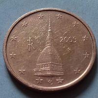 2 евроцента, Италия 2009 г.