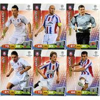 Коллекция PANINI Лига Чемпионов УЕФА 2011-2012. Adrenalyn XL // Otelul // Bus