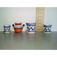 Кукольная посуда (кукольная миниатюра 1:12) (4 штуки, каждая по 2 рубля)