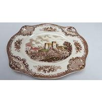 Тарелка фарфоровая,серия Старые замки Британии, Johnson Bros,Англия