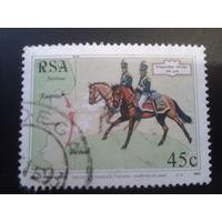 ЮАР 1993 день марки, перевозка почты в 1803 г.