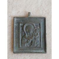 Икона меднолитая Пресвятая Богородица Смоленская.