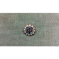 Знак Трудовые резервы(латунь,эмаль)