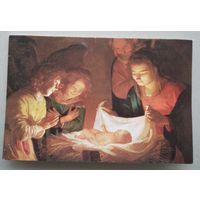 Вiншаванне ад пасла Италии с Новым годом i Калядамi. (Поздравление от посла Италии с Новым годом и Рождеством) 1990-е