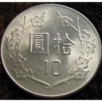 Тайвань 10 долларов 1984 (453)