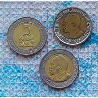 Кения 5 шиллингов. Инвестируй выгодно в монеты планеты!