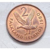 Фолклендские острова 2 пенса, 1980 5-8-13