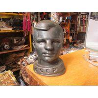 Гагарин, силумин, 14 см.