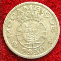 7887:  2,5 эскудо 1953 Мозамбик