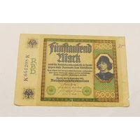 Старт с 1 рубля. 5000 марок 1922 год.