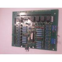 Плата блока БА-02 БСУ системы спектрон