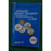 Каталог польских монет от 1916 года  Януша Пархаимович  1992