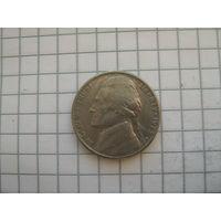 5 центов 1973г. D