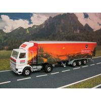 Модель грузового автомобиля SCANIA. Масштаб НО-1:87.