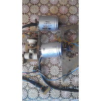 Двигатель шаговый mikroma FB-20-4-1A +шестеренки и крепеж