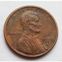 1 цент 1978 D