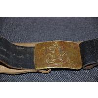 Ремень краснофлотца предположительно до 1936ГОДА!  Полностью пригоден к носке.