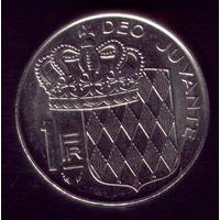 1 Франк 1982 год Монако